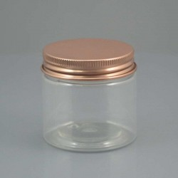 Borcan transparent din plastic, 50 ml