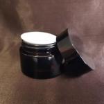 Borcan din sticlă ambra, 30 ml