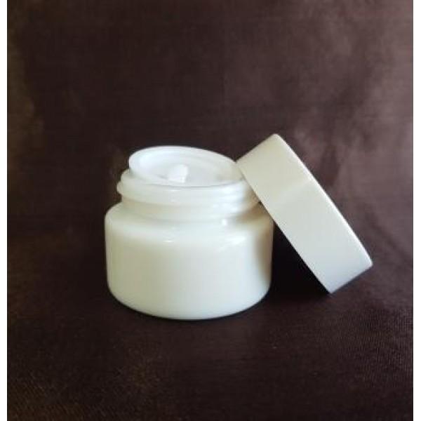 Borcan din ceramică  White, 15 ml