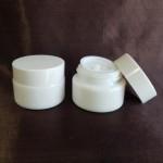 Borcan alb din ceramică, 15 ml