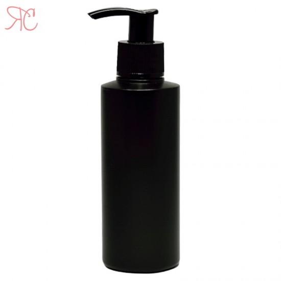 Flacon negru cu pompa dozatoare, 100 ml