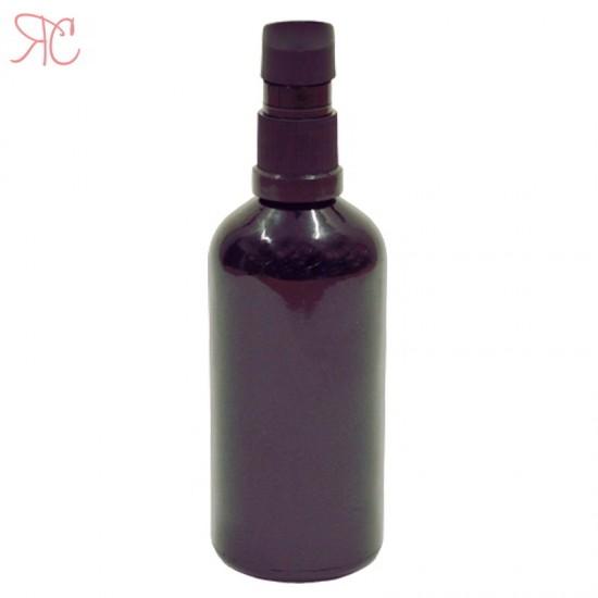 Sticla neagra cu pompa (uleiuri), 100 ml