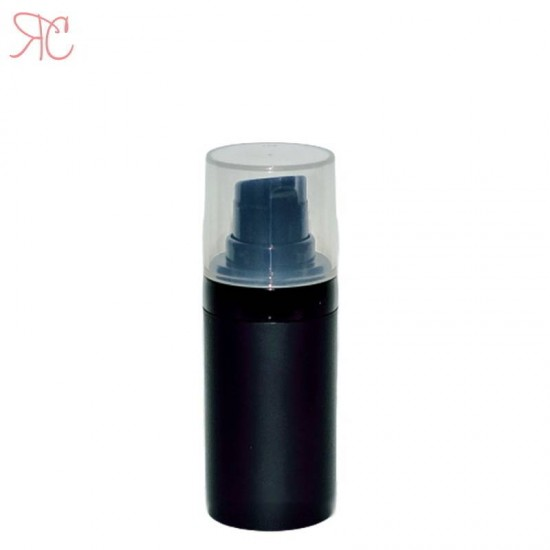 Flacon airless negru, 15 ml