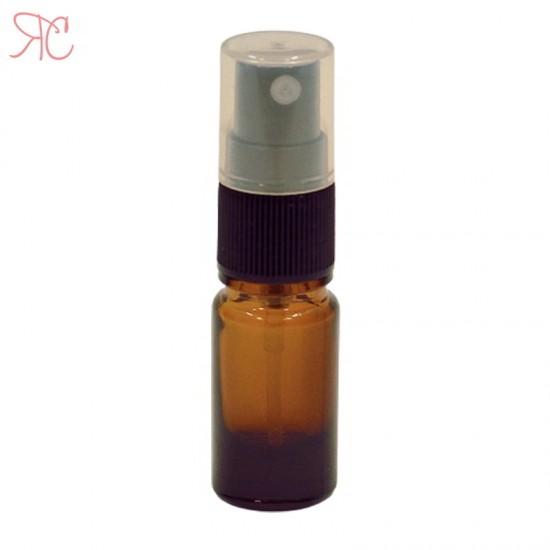 Sticla ambra cu atomizor, 5 ml