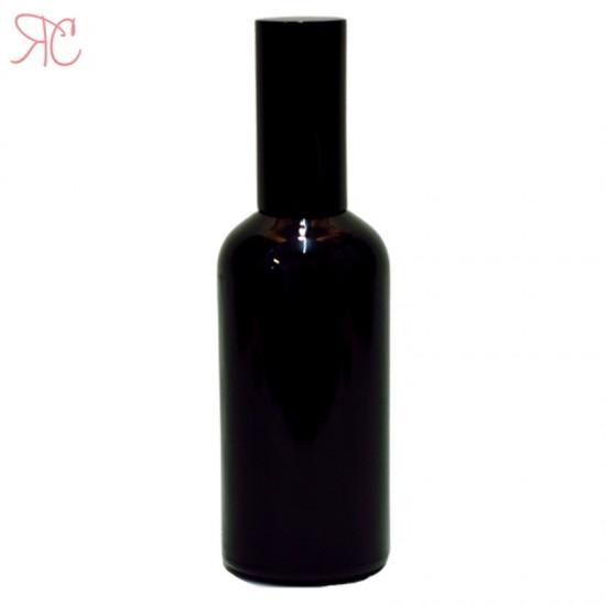Sticla neagra cu pompa spray, 100 ml