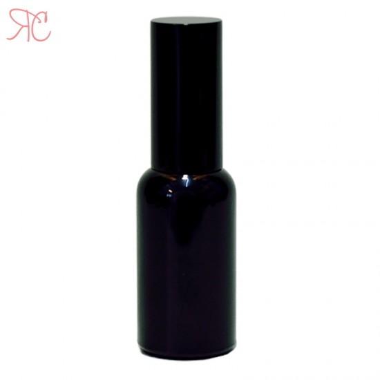 Sticla neagra cu pompa spray, 30 ml