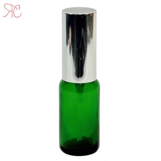 Sticla verde cu pompa lotiuni Silver, 20 ml