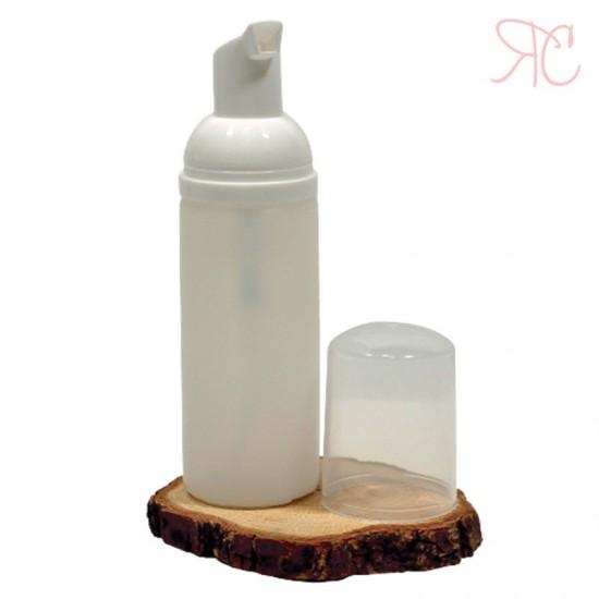 Flacon alb cu pompa spumanta, 50 ml