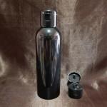 Flacon negru cu capac flip-top, 150 ml