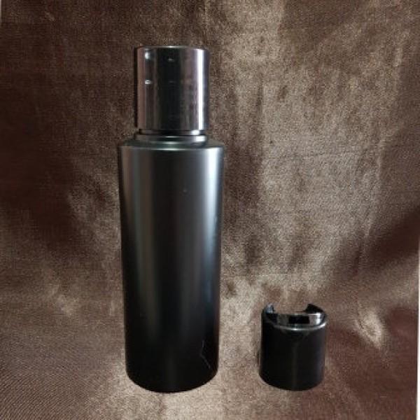 Flacon negru cu capac disc-top, 100 ml