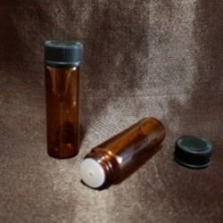 Sticlă ambra cu picurător, 5 ml
